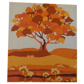 MCM The Tree of Life Fabric Art