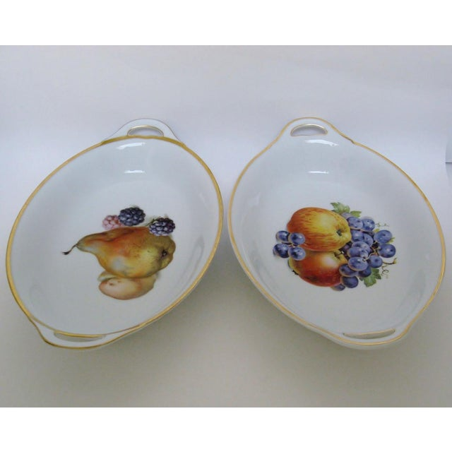 Vintage Bavarian Serving Bowls - a Pair - Image 4 of 8