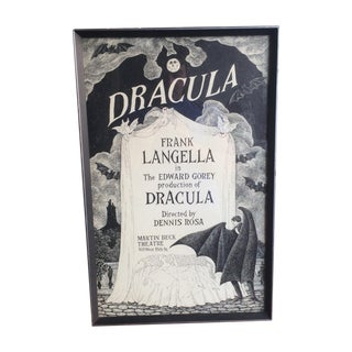 Dracula on Broadway Poster