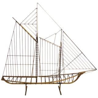 Curtis Jere Sailing Ship