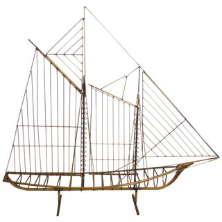 Curtis Jere Sailing Ship