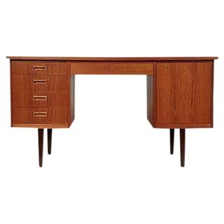 1970s Danish Teak Desk