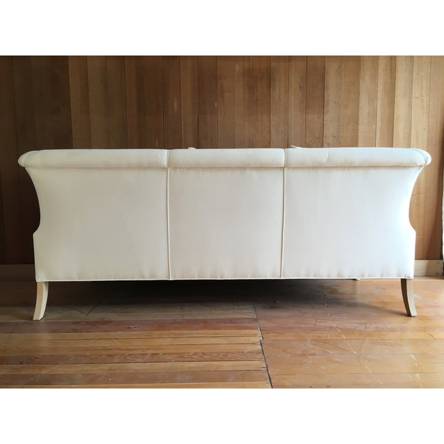 Twisted Leg Sofa + Custom Upholstery Service - Image 4 of 7