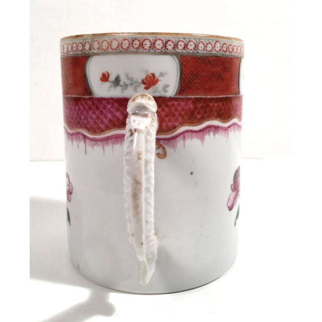 Chinese Export Famille Rose Porcelain Mug - Image 3 of 9