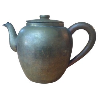 Chinese Tea Kettle Pot with Hinged Spout