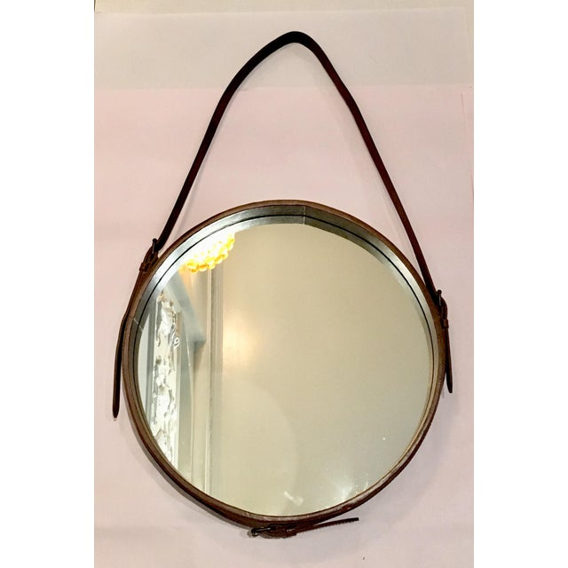 Lawson Fenning Leather Strap Mirror - Image 2 of 8