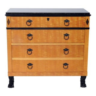 Baker Furniture Granite Top Commode