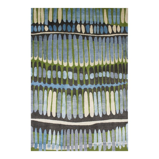 """Fire Island"" Rug by Emma Gardner - Image 1 of 4"