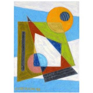 Emil Bisttram Abstract