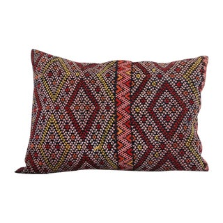 Handcrafted Moroccan Kilim Pillow VI