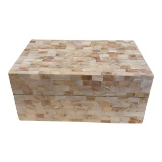 Mother of Pearl Mosaic Box