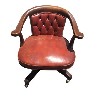 Kittinger Leather Office Chair