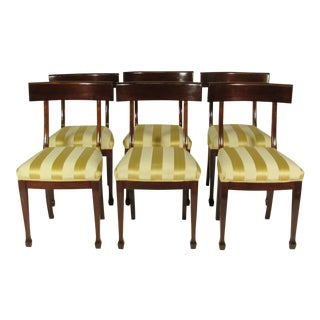 English Regency Dining Chairs - Set of 6