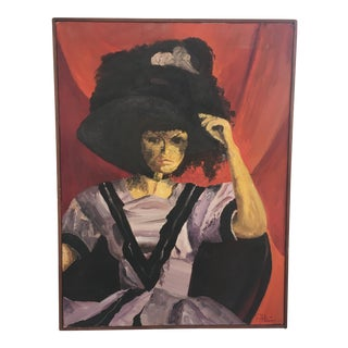 Portrait Oil on Canvas Painting