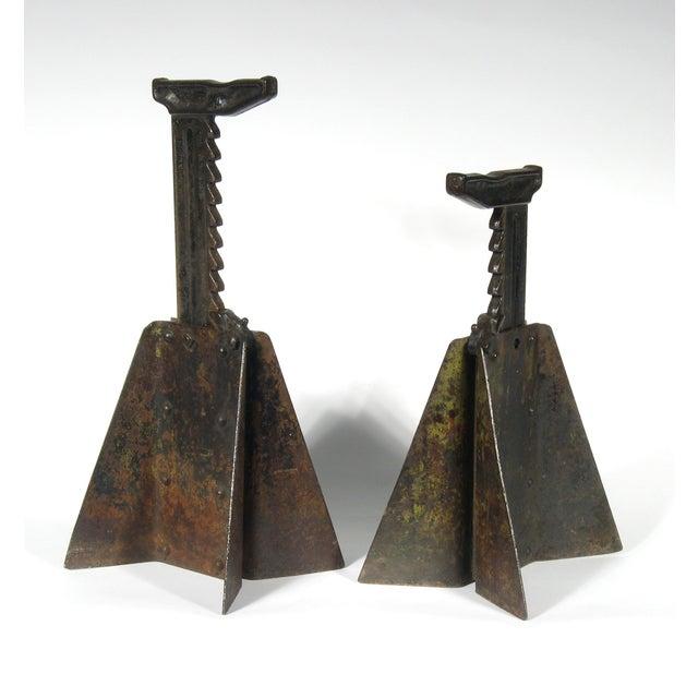 Vintage Hi-Low Steel Horses - Pair - Image 2 of 4