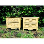 Image of French Provincial Nightstands- A Pair