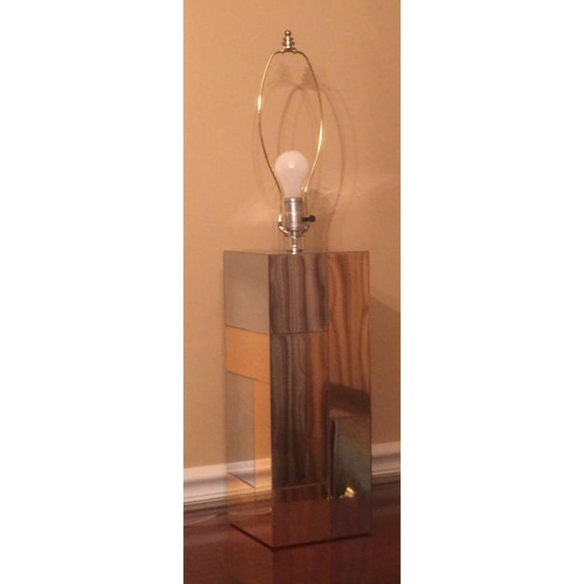 Paul Evans Cityscape Table Lamp - Image 2 of 6