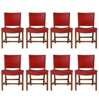 Set of Eight Kaare Klint Dining Chairs