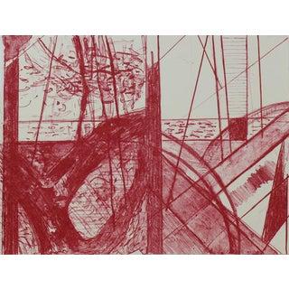 Pat Steir Landfall Press Original Lithograph