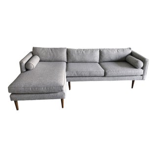 West Elm Monroe Sectional Couch