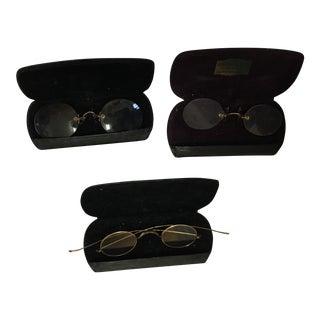 Victorian Spectacles in Original Cases - Set of 3