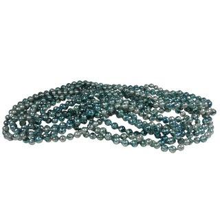 Blue Glass Bead Garlands - A Pair