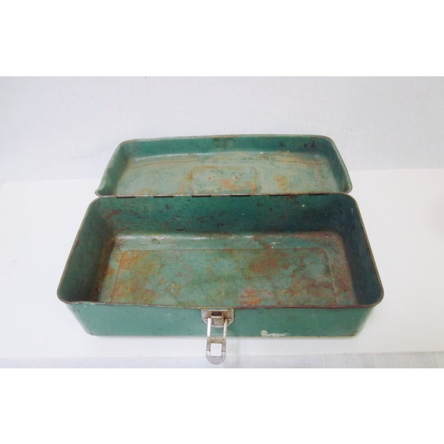 Image of Green Liberty NY Metal Chest