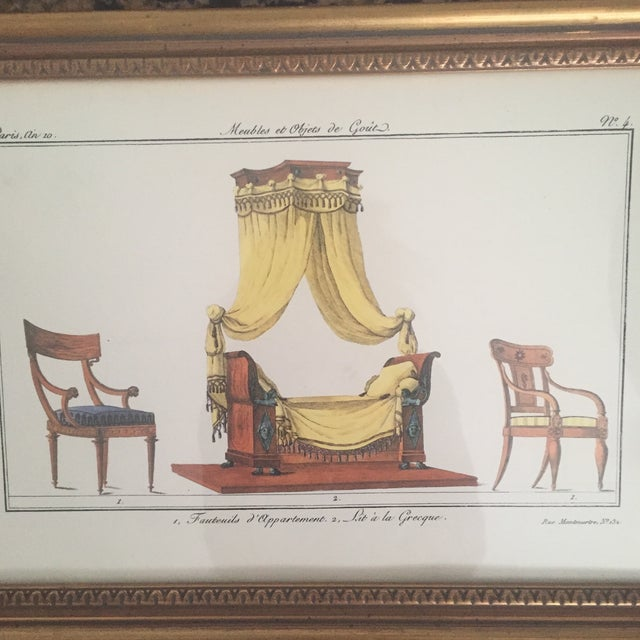 Chelsea House French Framed Lithographs - A Pair - Image 3 of 11