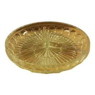 Divided Glass Candy Dish