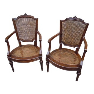 Louis XVI Walnut Chairs