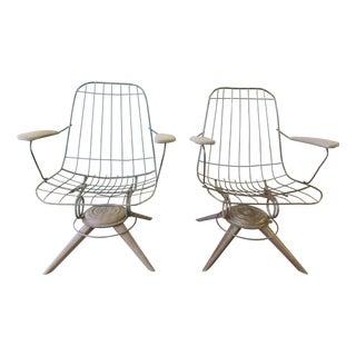 Danish Modern Homecrest Bottemiller Chair - Pair
