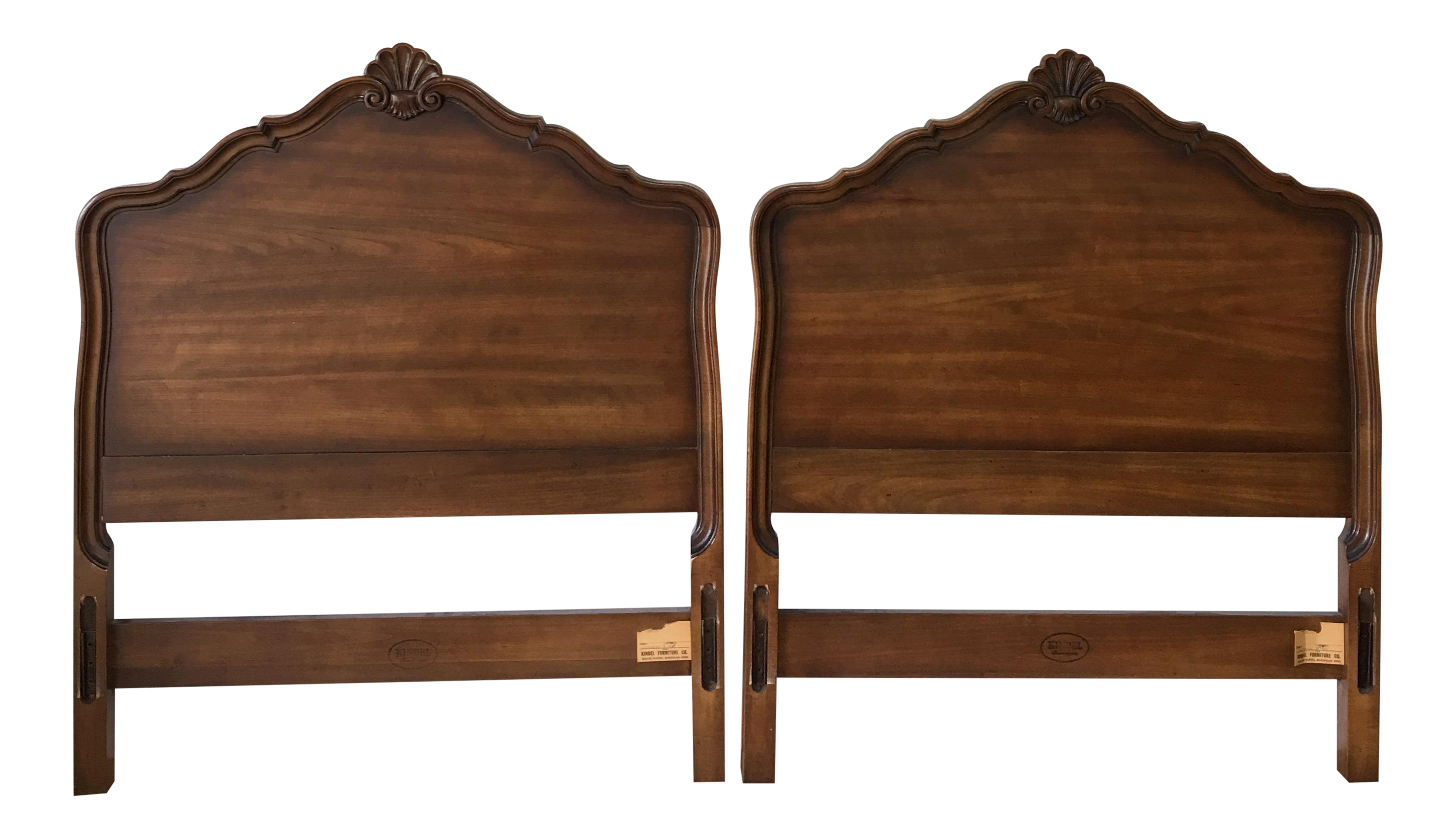 Great Kindle Furniture Twin Headboards   A Pair
