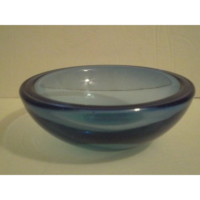 Blue Art-Glass Bowl - Image 2 of 3
