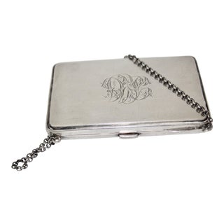 Sterling Antique Hallmarked Birmingham Card Holder