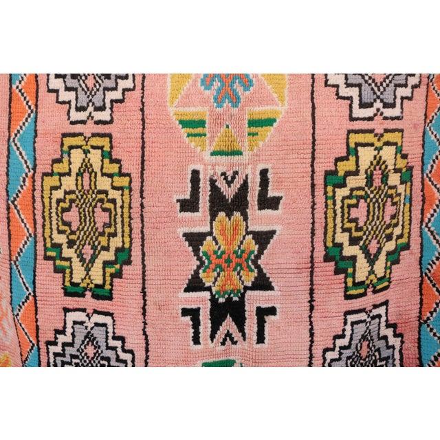 "Boujad Vintage Moroccan Rug, 6'1"" x 10'10"" - Image 2 of 4"