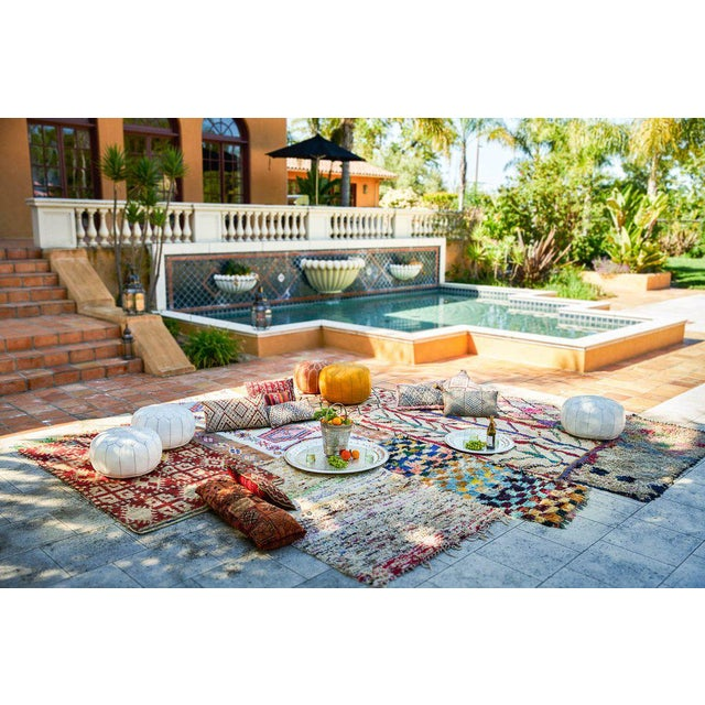 "Boucherouite Moroccan Carpet - 7' x 3'6"" - Image 2 of 2"