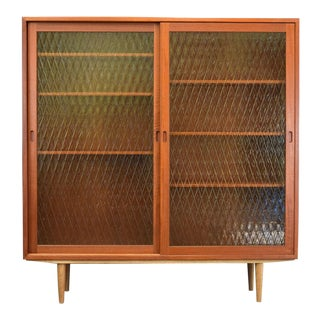 Børge Mogensen 'Oresund' Teak and Glass Cabinet for Karl Andersson & Söner