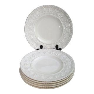 Vintage Wedgewood Salad Plates - Set of 6