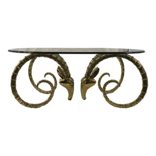 Brass Ibex Dining Table