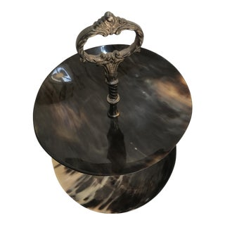 Arte Italica Decorative Tiered Serving Bowl