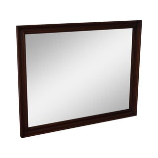 Henkel Harris Solid Cherry Rectangular Wall Mirror