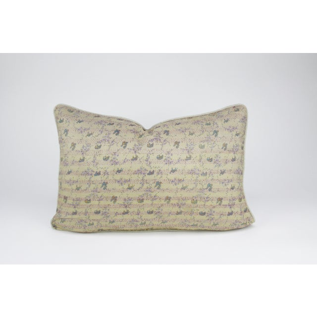 Image of Bengal Silk Ivory Pillow