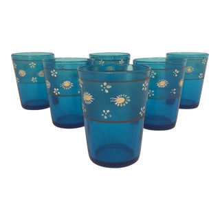 Vintage Low Ball Drinking Glasses - Set of 6