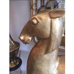 Image of Ceramic Gilded Horse