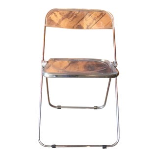 Piretti for Castelli Chrome Folding Chair