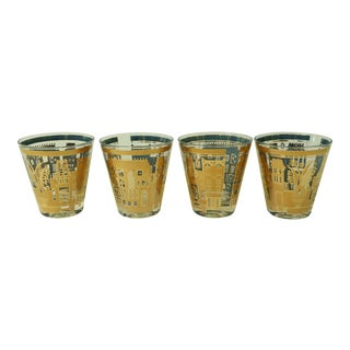 Georges Briard Cityscape Glasses - Set of 4