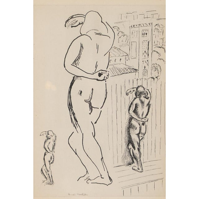 "Matisse ""Planche 2"" Portrait of a Woman Lithograph - Image 5 of 10"