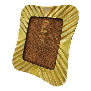Vintage Gold Brass Picture Frame