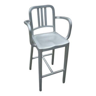 Emeco Navy Bar Stool With Arms