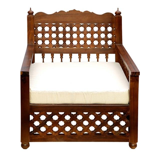 Image of Moorish Carved Chair